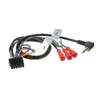 Cable lead Cable lead universel pour autoradio du commerce et interface commande au volant
