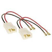 Cables Adaptateurs HP 2 Cables adaptateurs haut-parleur compatible avec Alfa Ford Fiat Kia Lancia Opel Renault Subaru Suzuki