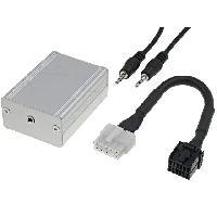 Cables Autoradios, AUX, telecommandes Adaptateur Autoradio AUX Jack 3.5mm pour Ford 4050 5000 6000 7000