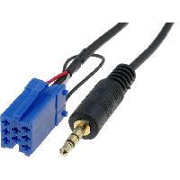 Cables Autoradios, AUX, telecommandes Cable Adaptateur AUX Jack - Grundig