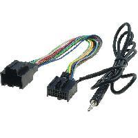 Cables Autoradios, AUX, telecommandes Cable Adaptateur AUX Jack - Saab 9-3 9-5 ap05 - ADNAuto