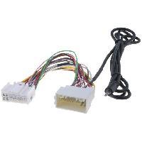 Cables Autoradios, AUX, telecommandes Cable Adaptateur AUX Jack pour Hyundai H1 H300 IX35 Kia Sportage