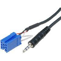 Cables Autoradios, AUX, telecommandes Cable Adaptateur AUX Jack pour Smart ForFour ForTwo - ADNAuto