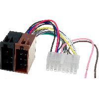 Cables Specifiques Autoradio ISO Cable Autoradio Alpine 16PIN Vers ISO 1