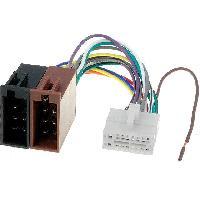Cables Specifiques Autoradio ISO Cable Autoradio Clarion 16PIN Vers ISO - connecteur blanc 1 - ADNAuto