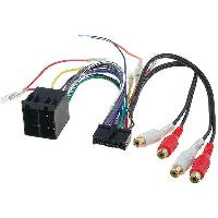 Cables Specifiques Autoradio ISO Cable Autoradio Clatronic 20PIN Vers ISO - ADNAuto