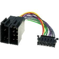 Cables Specifiques Autoradio ISO Cable Autoradio JVC 11PIN Vers ISO - ADNAuto