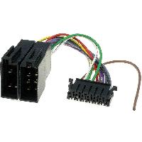 Cables Specifiques Autoradio ISO Cable Autoradio JVC 13PIN Vers ISO - ADNAuto