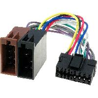 Cables Specifiques Autoradio ISO Cable Autoradio JVC avec connecteur 16 pins vers ISO - ADNAuto
