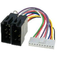Cables Specifiques Autoradio ISO Cable Autoradio Kenwood 10PIN Vers ISO - ADNAuto