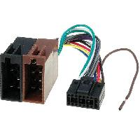 Cables Specifiques Autoradio ISO Cable Autoradio Kenwood 16PIN vers ISO