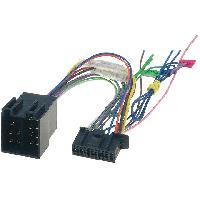 Cables Specifiques Autoradio ISO Cable Autoradio Kenwood 22PIN Vers ISO - ADNAuto