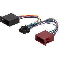 Cables Specifiques Autoradio ISO Cable Autoradio LG 12PIN Vers ISO separe - connecteur marron - ADNAuto