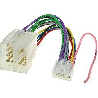 Cables Specifiques Autoradio ISO Cable Autoradio Nakamichi 14PIN Vers ISO - ADNAuto