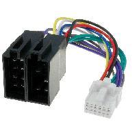 Cables Specifiques Autoradio ISO Cable Autoradio Panasonic 12PIN Vers ISO - ADNAuto
