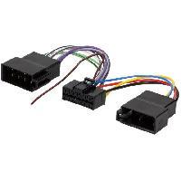 Cables Specifiques Autoradio ISO Cable Autoradio Panasonic 16PIN Vers ISO separe
