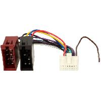 Cables Specifiques Autoradio ISO Cable Autoradio Panasonic 16PIN vers ISO - ADNAuto