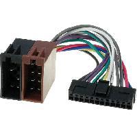 Cables Specifiques Autoradio ISO Cable Autoradio Pioneer 12PIN Vers Iso - connecteur noir - ADNAuto