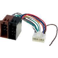 Cables Specifiques Autoradio ISO Cable Autoradio Pioneer 16PIN Vers Iso - connecteur blanc 1 - ADNAuto