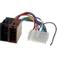 Cables Specifiques Autoradio ISO Cable Autoradio Pioneer 16PIN Vers Iso - connecteur blanc 2 - ADNAuto