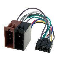 Cables Specifiques Autoradio ISO Cable Autoradio Pioneer 16PIN Vers Iso - connecteur noir 4 - ADNAuto