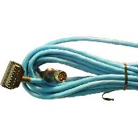 Cables changeur CD CABLE SPECIFIQUE CD-AUTORADIO PIONEER 6M AVEC CABLE AUX