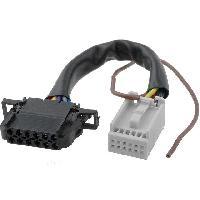Cables changeur CD Cable Autoradio pour changeur CD Quadlock 12pin vers 12pin Audi VW 0.15m