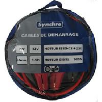 Cables de demarrage Cables de demarrage 16mm2 - 220A Generique