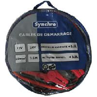 Cables de demarrage Cables de demarrage 25mm2 - 350A Generique