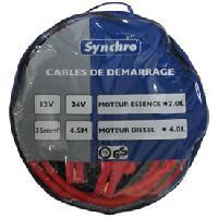 Cables de demarrage Cables de demarrage 35mm2 480A - 4.5m Generique