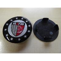 Caches-moyeux 1 Cache Moyeu plat avec embleme etoile pour Jante P62 - Ext 60mm
