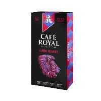 Cafe - Chicoree CAFE ROYAL Dark Roast - Compatibles avec le systeme Nespresso - 10 Capsules