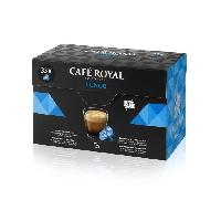 Cafe - Chicoree CAFE ROYAL Lungo - Compatibles avec le systeme Nespresso - 33 Capsules