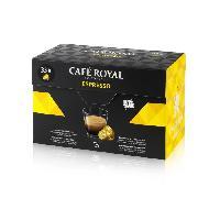 Cafe - Chicoree Espresso - Compatibles avec le systeme Nespresso - 33 Capsules
