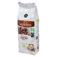 Cafe - Chicoree LOBODIS Cafe Selection Grains Pur Arabica Bio - 250 g