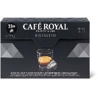 Cafe - Chicoree Ristretto - Compatibles avec le systeme Nespresso - 33 Capsules