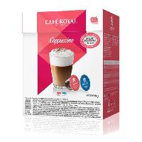 Cafe - Chicoree dolce gusto Cappuccino Capsules compatibles Systeme Dolce Gusto