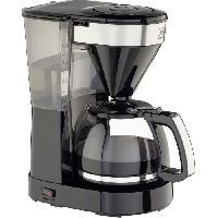 Cafetiere - Theiere - Chocolatiere Easy Top II 1023-04 - Cafetiere filtre - 1050 W - Noir