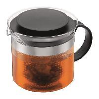 Cafetiere - Theiere - Chocolatiere Theiere avec filtre en acrylique 1.5L - noir