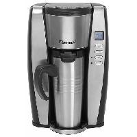 Cafetiere ACUP650 Cafetiere programmable - Thermos inox - 650W - Noir Inox