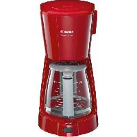 Cafetiere BOSCH TKA3A034 Cafetiere filtre CompactClass Extra - Rouge