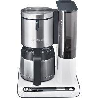 Cafetiere BOSCH TKA8651 Cafetiere filtre programmable avec verseuse isotherme Styline - Blanc