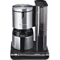 Cafetiere BOSCH TKA8653 Cafetiere filtre programmable avec verseuse isotherme Styline - Noir