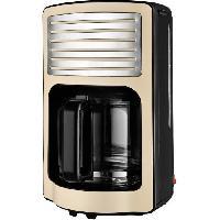 Cafetiere KALORIK TKGCM2500 Cafetiere - Capacité 1.8 L - 1000 W - Beige et noir