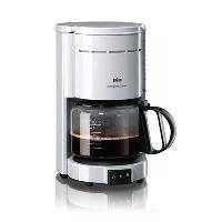 Cafetiere KF471 Cafetiere a filtre - 10 tasses - Blanc - 1000W