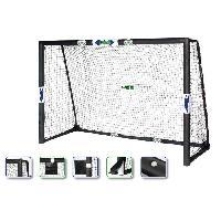 Cage - But - Format Officiel De Football CDTS But de football avec filet - Tubes Ø 32 mm - 240 x 160 cm - Generique
