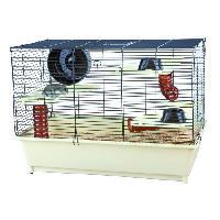 Cage Cage avec equipement de base pour hamster Trixie