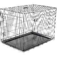 Cage Cage metallique pliable Classic - 109 x 71 x 79 cm - Noir - Pour chien