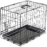 Cage Cage metallique pliable Classic - 48 x 30 x 38 cm - Noir - Pour chien