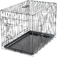 Cage Cage metallique pliable Classic - 76 x 48 x 55 cm - Noir - Pour chien